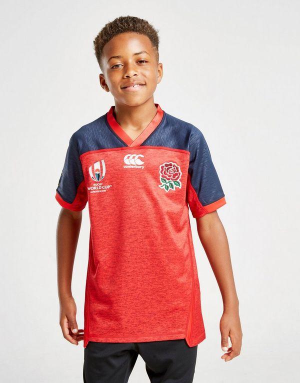 Canterbury England RFU Rugby World Cup 2019 Shirt Junior