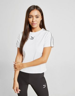 PUMA Classic Piping Crop Top