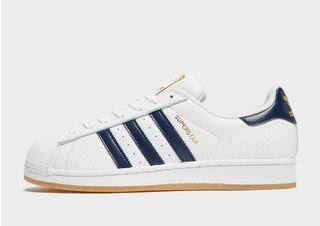 Baskets Chaussures Superstar Marine Adidas Bleu Exclusives
