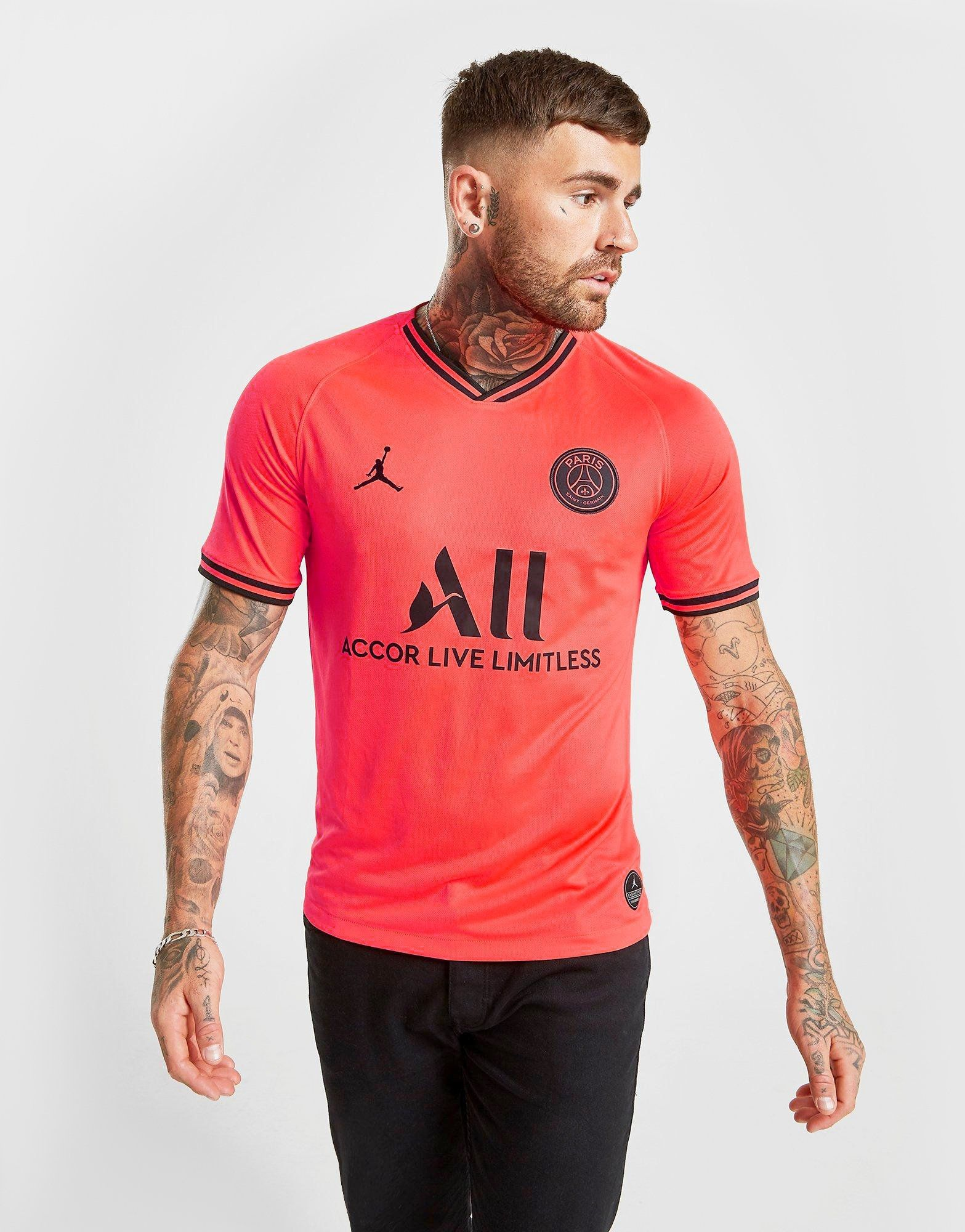innovative design 941fe 46103 Jordan Paris Saint Germain 2019/20 Away Shirt | JD Sports Ireland
