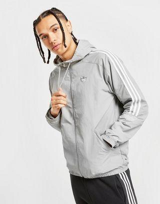 Veste coupe vent adidas Supernova pour homme en gris Gris