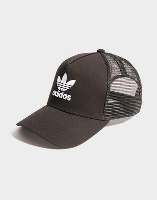 ADIDAS ORIGINALS Trefoil Trucker cap voor Heren Zwart