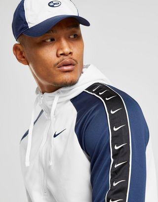 Nike Sweat à capuche Tape Poly 1/2 Zippé Homme