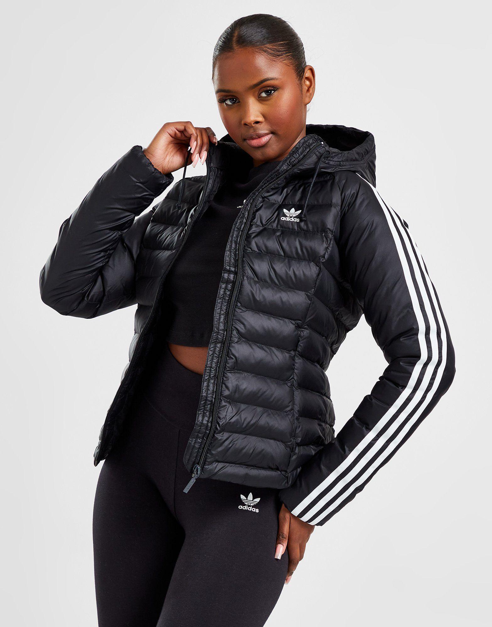 get cheap authentic huge sale adidas Originals Veste 3-Rayures Fine Molletonnée Femme | JD Sports