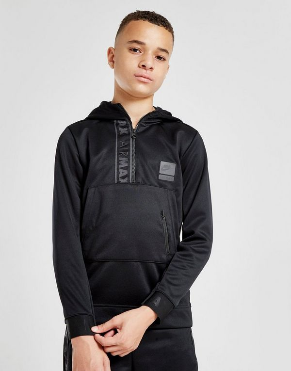 Max Zippé Nike À 14 JuniorJd Air Poly Sports Sweat Capuche CrsQdth