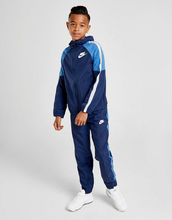 dc8c3c930689 Nike Sportswear Woven Tracksuit Junior   JD Sports Ireland