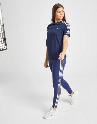 adidas Originals 3-Stripes Lock Up T-Shirt