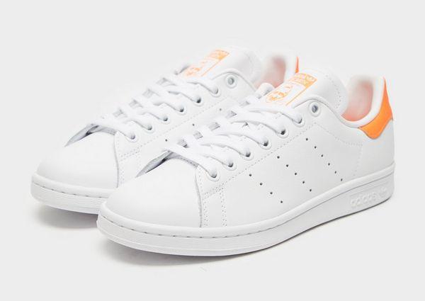 adidas stan smith femme grise trois bandes orange