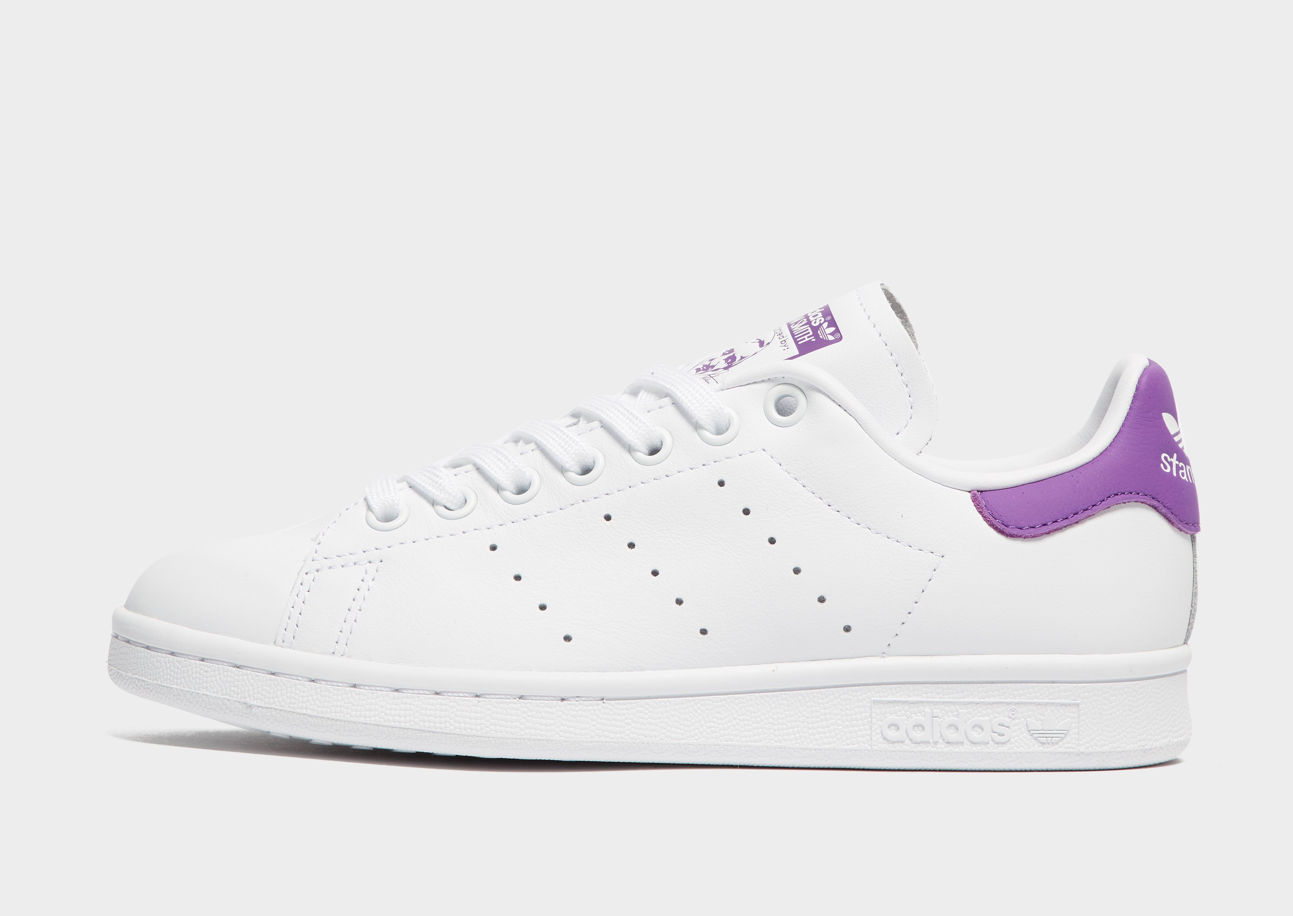 adidas stan smith violet femme
