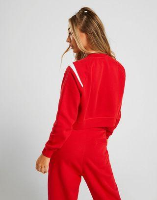 Nike Oversized Swoosh Logo Sweatshirt Damen