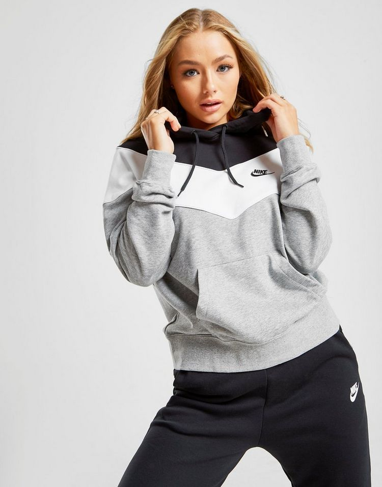 Nike Heritage Colour Block Hoodie Dames