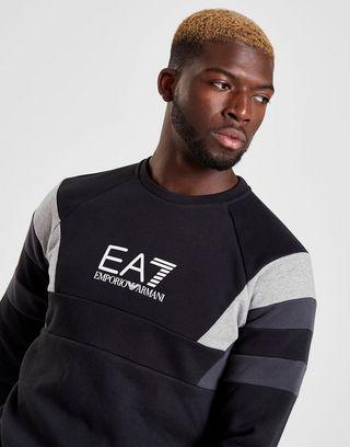 Emporio Armani EA7 Sweat-shirt Multi Panel Crew Homme