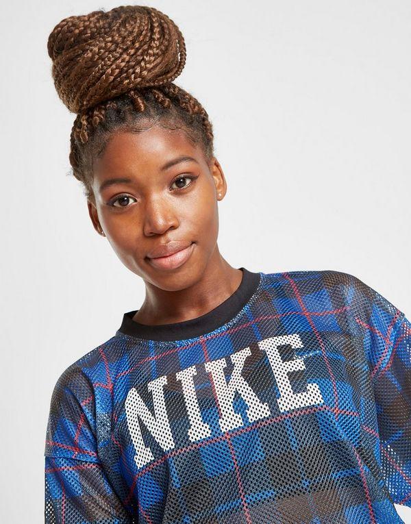 Nike Check T-Shirt Damen