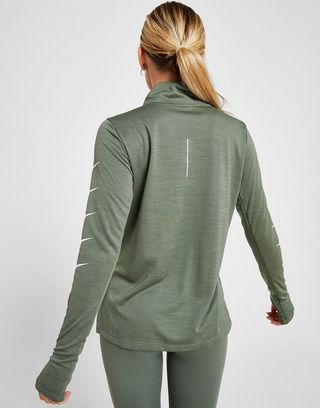 Nike Running Repeat Swoosh 1/4 Zip Track Top