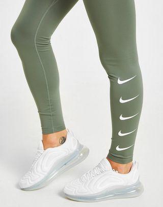 Nike Nike Running Repeat Swoosh Tights Dames