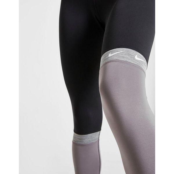 Nike Collant Training Colour Block Swoosh Femme
