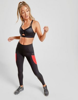 Nike Training One Colour Block Lux Tights