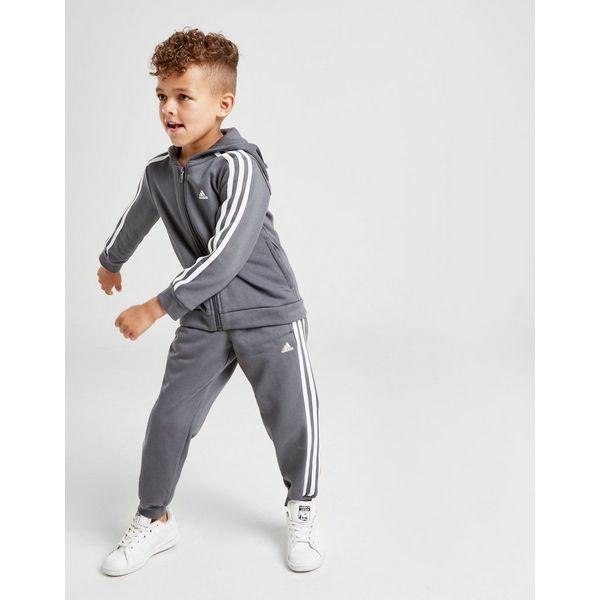adidas Badge of Sport Fleece Tracksuit Children