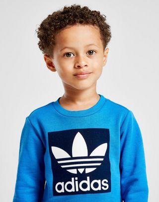 adidas Originals Flock Box Crew Suit Infant | JD Sports