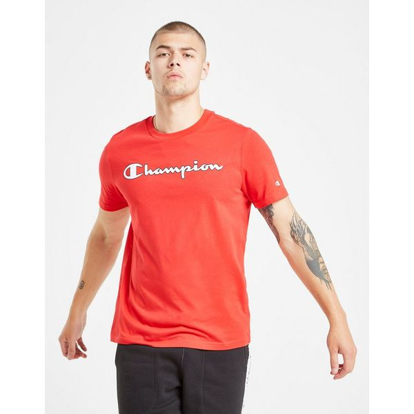 Champion Core Script T-Shirt Heren