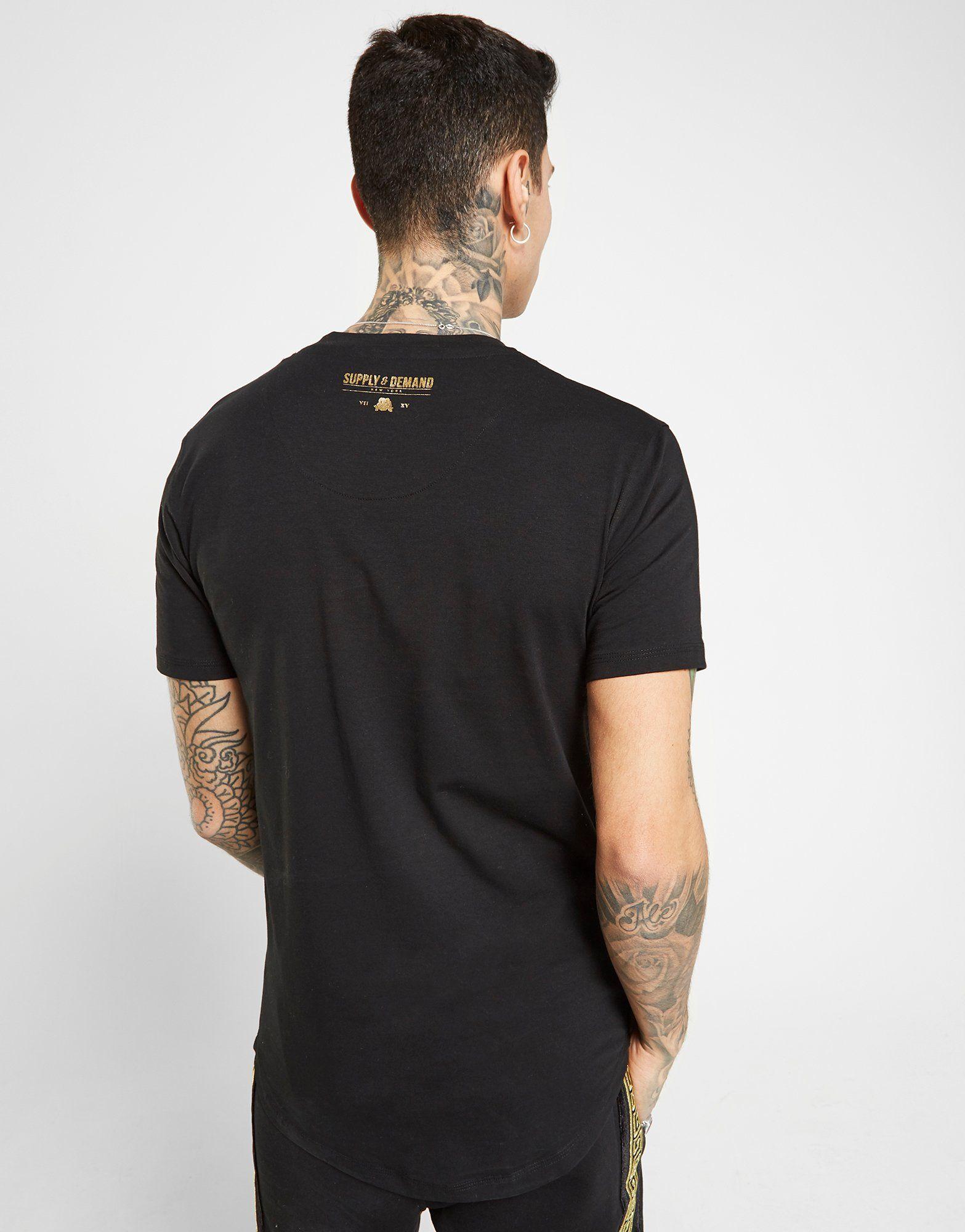 Supply & Demand Double Stripe T-Shirt