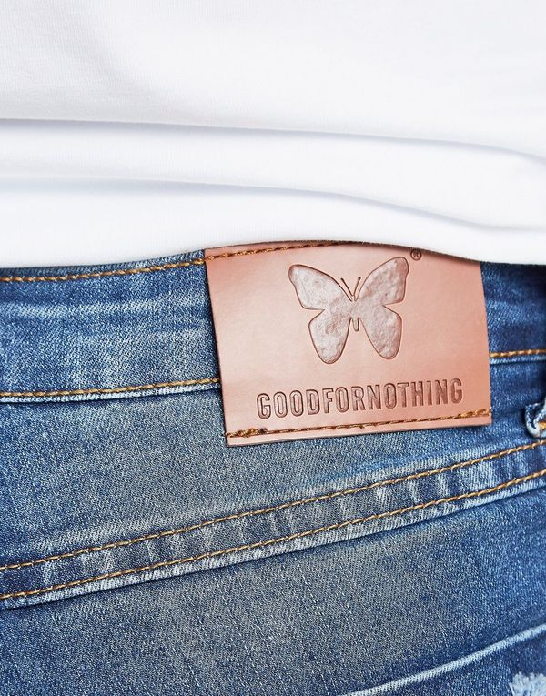 Good For Nothing Destroy Denim Shorts Heren