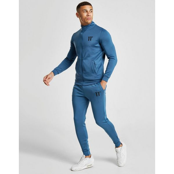 11 Degrees Core Full Zip Poly Track Top