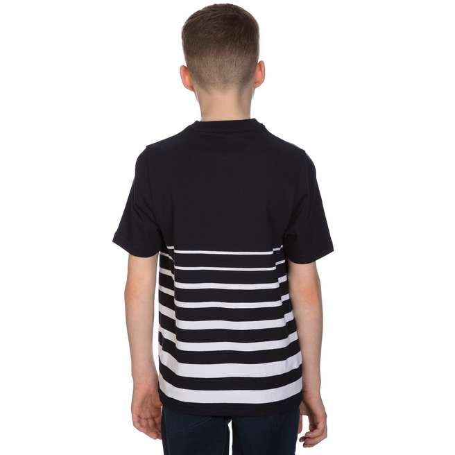 Fred Perry Degrade Striped T Shirt Junior Jd Sports