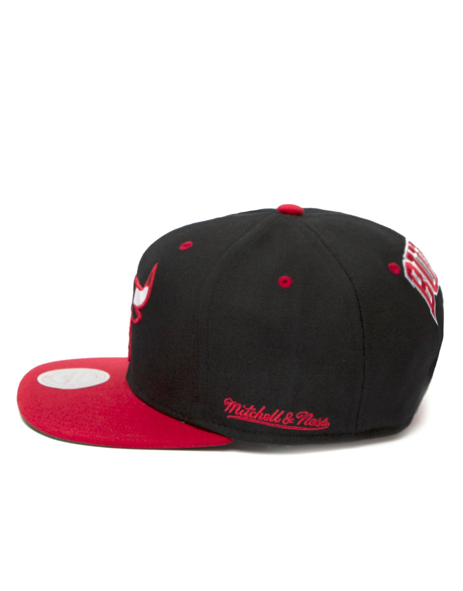 Mitchell & Ness NBA Chicago Bulls Flipside Snapback Cap