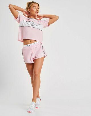 Pink Soda Sport Mesh Shorts