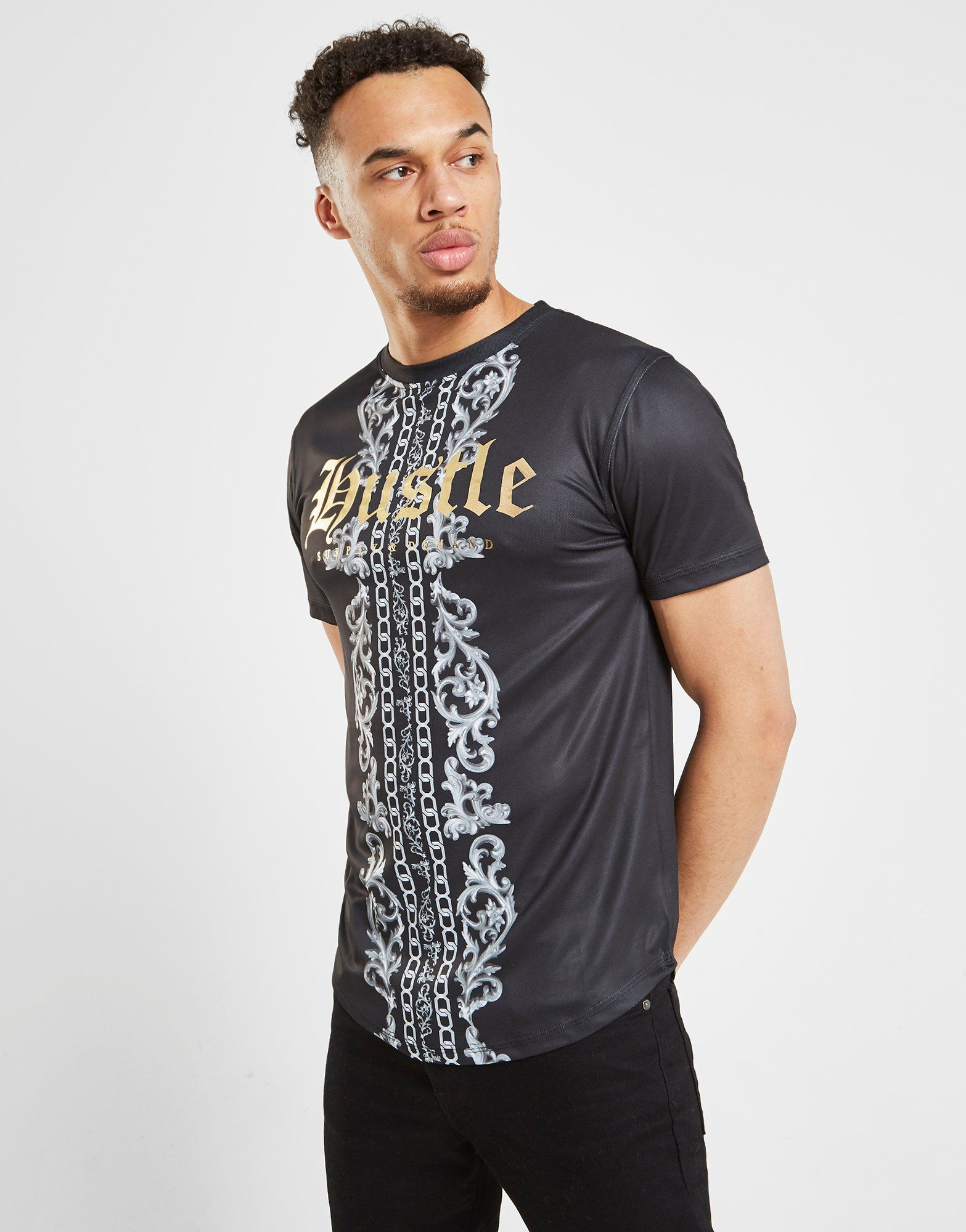 Supply & Demand Hustle Geo T-Shirt