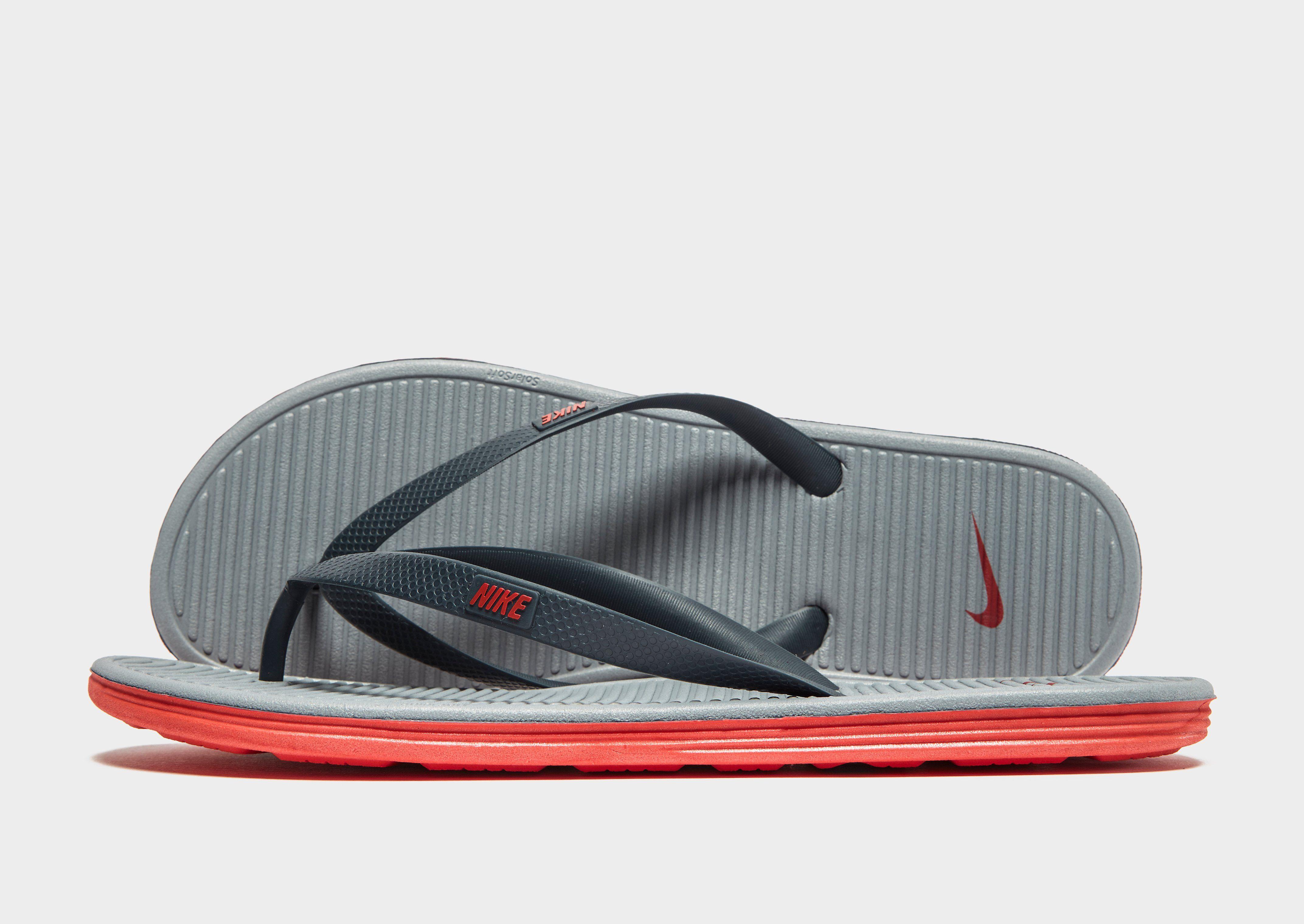 a19253ff27d Nike Solarsoft II Flip Flops