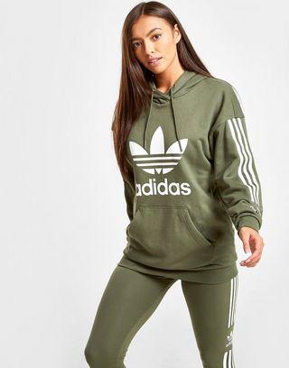 adidas Originals 3-Stripes Lock Up Boyfriend Hoodie