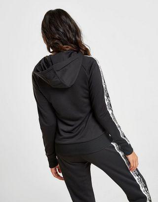 adidas Originals Sweat à capuche Tape Poly Zippé Femme | JD ...