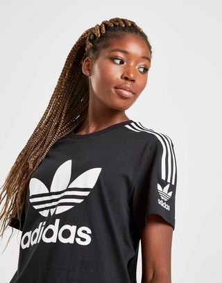 adidas Originals 3-Stripes Lock Up Boyfriend T-Shirt