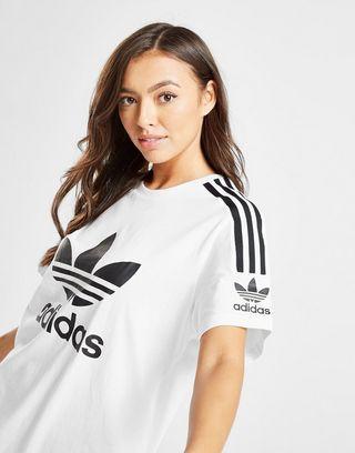 adidas Originals 3-Stripes Lock Up Boyfriend T-Shirt Damen