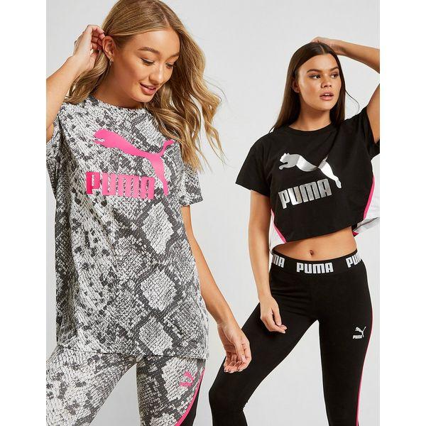 PUMA T-Shirt Crop Femme