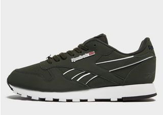 Reebok Classic Leather Homme Chaussures Vert and Gris,basket