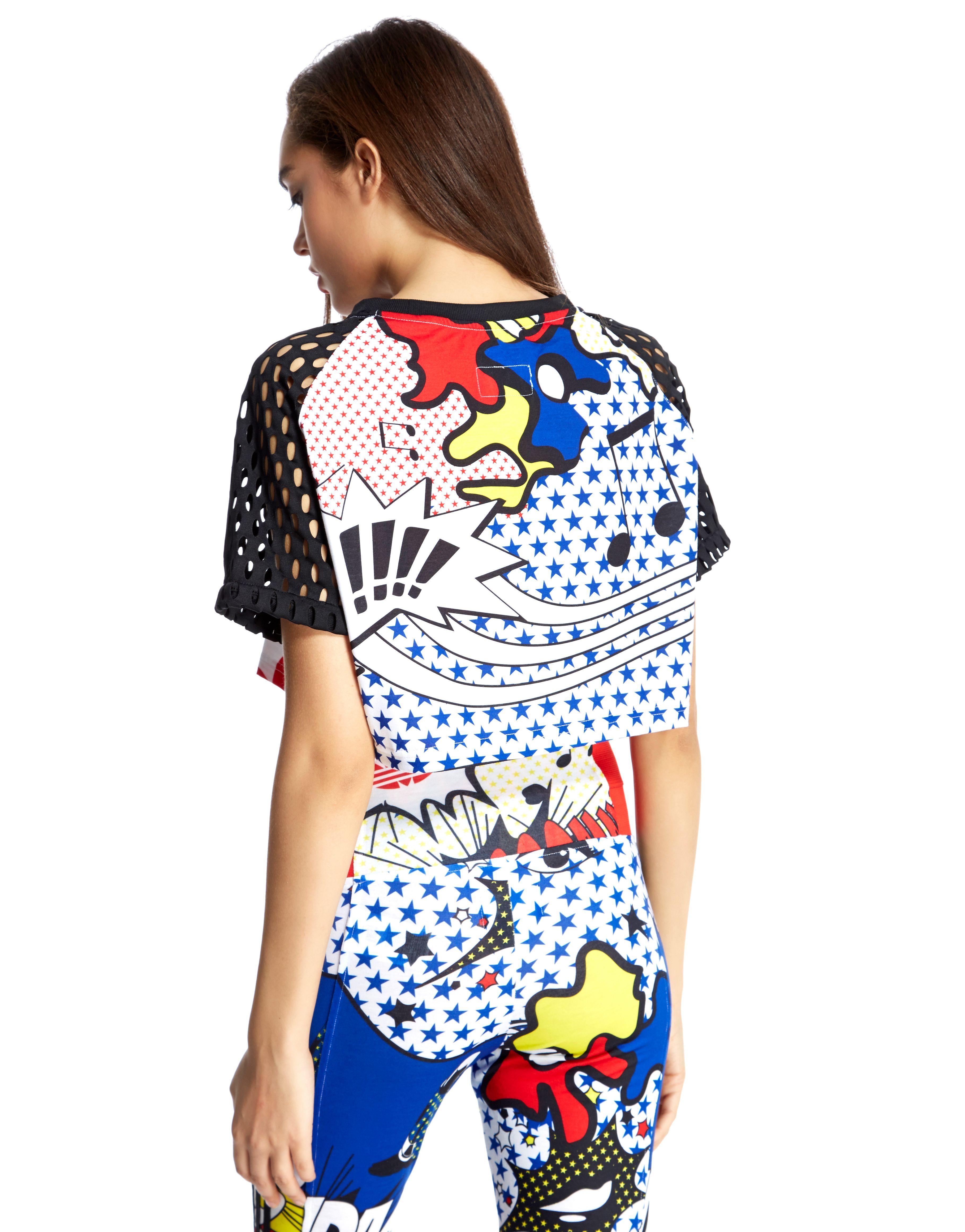 adidas Originals Rita Ora Super Crop T-Shirt