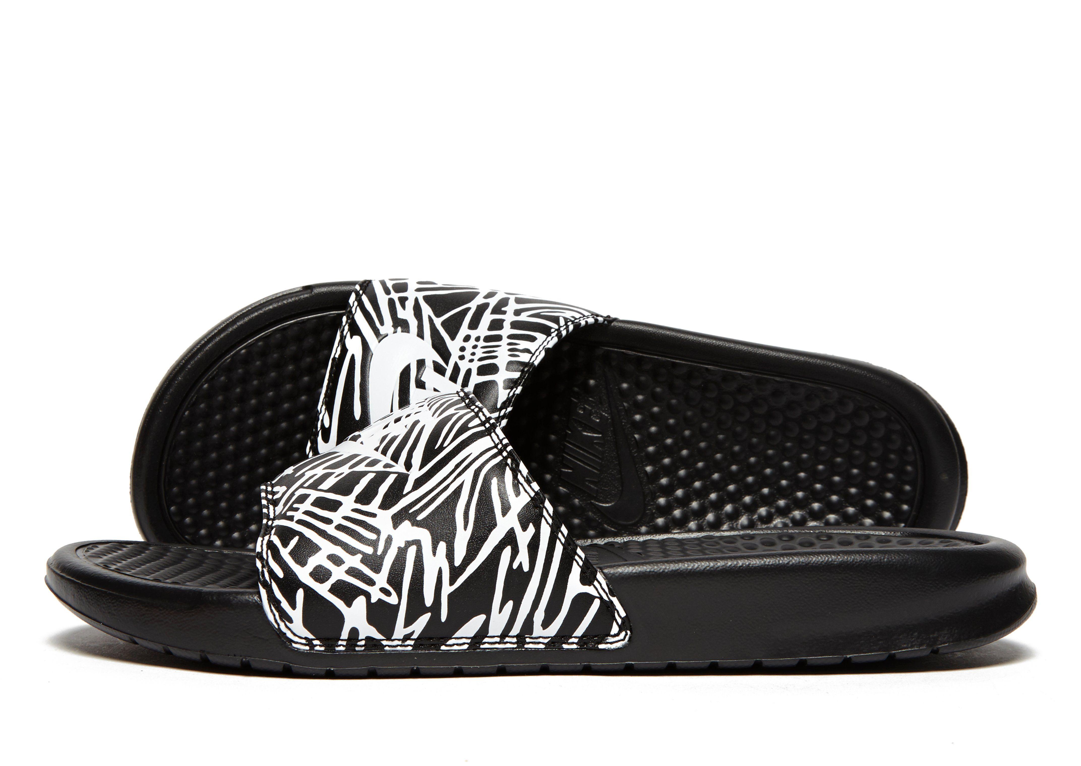 Nike Benassi Just Do It Print Slides Women s JD Sports 521d5db10038