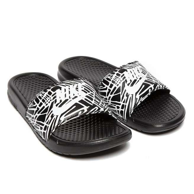 Elegant NEW Womens Nike Benassi JDI Athletic Slide Sandals Flip Flop SIZE 9