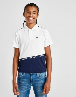 Lacoste Tape Poloshirt Kinder
