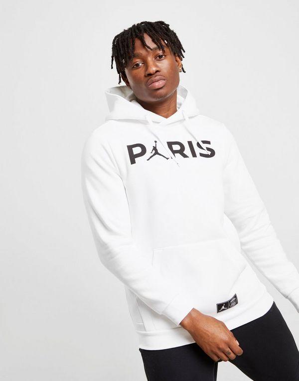 49d7dc7dbce1 Paris SaintGermain Jumpman Men39s Pullover Hoodie Black