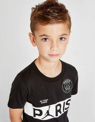 Jordan x Paris Saint Germain Wordmark T-Shirt Children