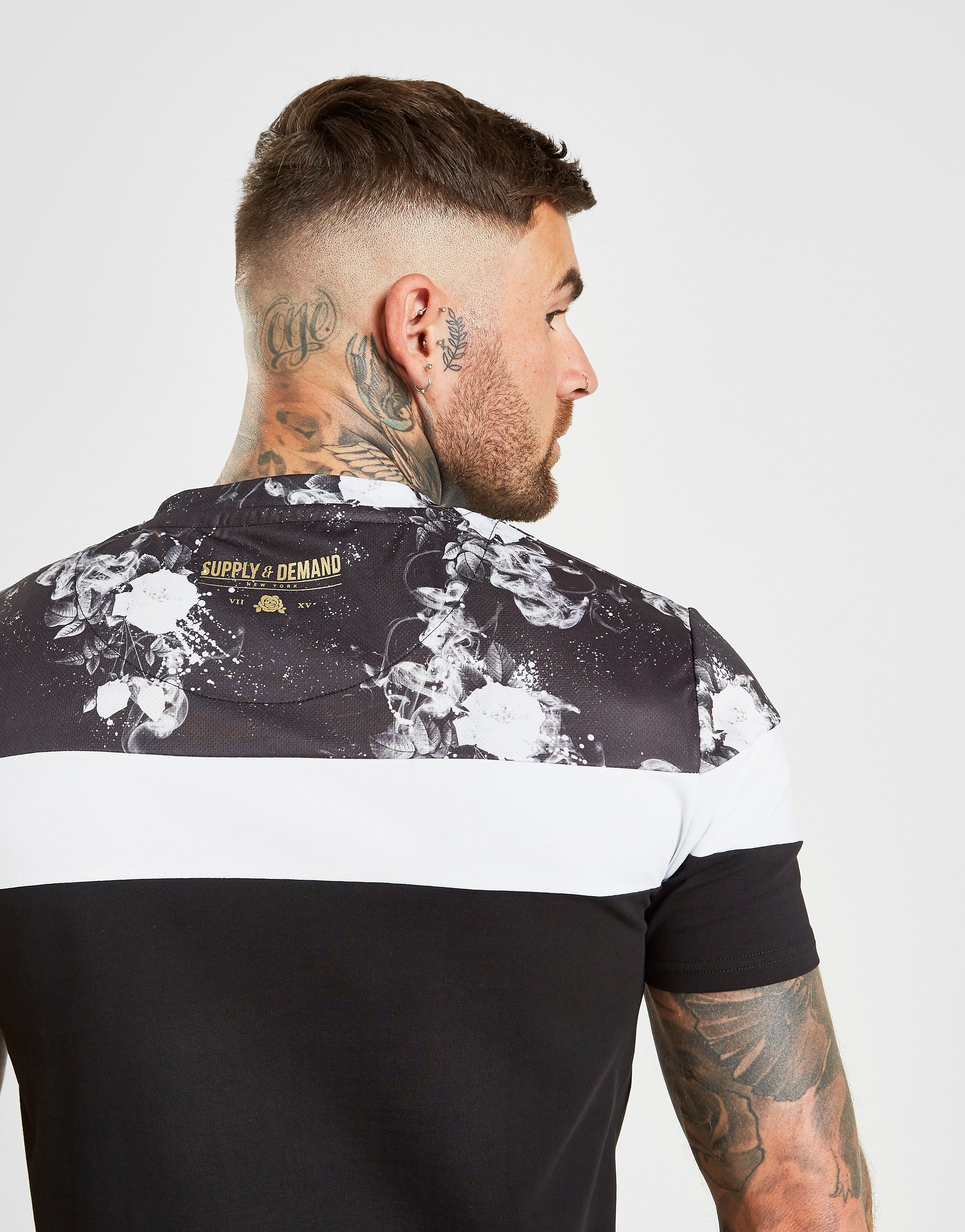 Supply & Demand Splatter Block T-Shirt