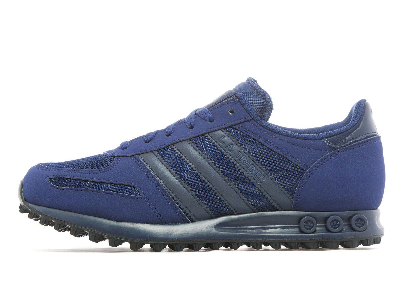check out 808e4 1b7aa Adidas La Trainer Weave Blue