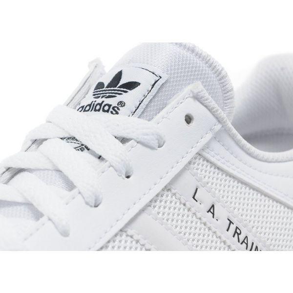 adidas la trainer all white