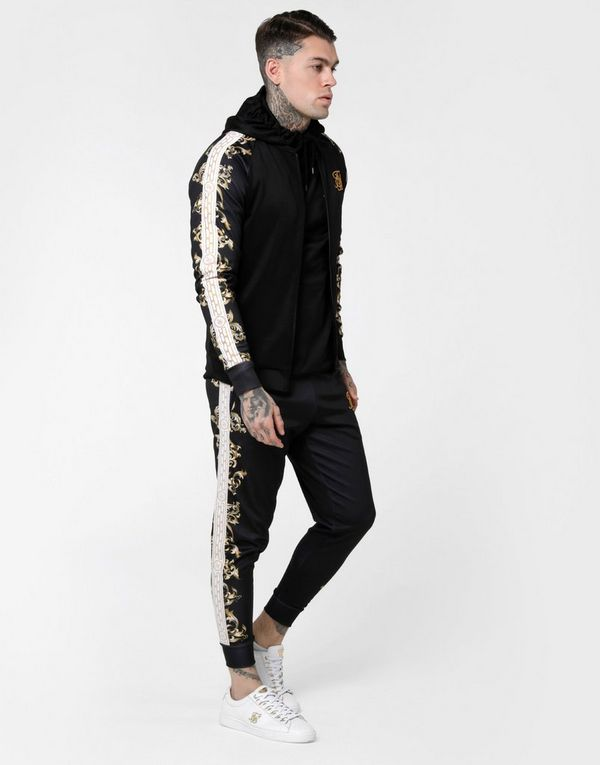 SikSilk Bomber Track Top
