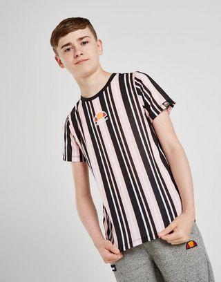 Ellesse Cherona Stripe T-Shirt Junior