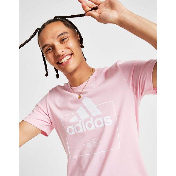 adidas Badge Of Sport Box Logo T-Shirt Heren